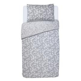 Save £6 at Argos on Argos Home Grey Honesty Bedding Set - Single