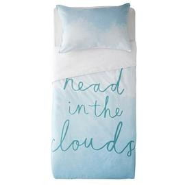 Save £6 at Argos on Argos Home Head in the Clouds Bedding Set - Single
