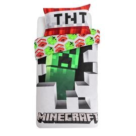 Save £5 at Argos on Minecraft Bedding Set - Single