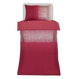Save £8 at Argos on Argos Home Red Ombre Sequin Bedding Set - Single