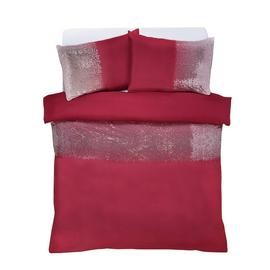 Save £12 at Argos on Argos Home Red Ombre Sequin Bedding Set - Kingsize