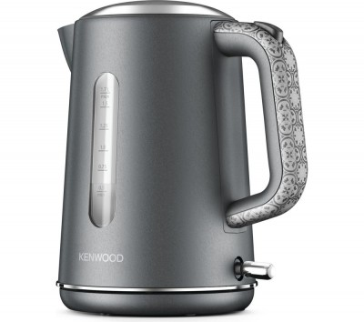Save £9 at Currys on KENWOOD The Abbey Collection TJ05GY Jug Kettle - Grey, Grey