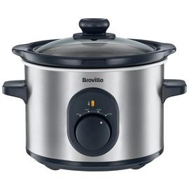 Save £5 at Argos on Breville 1.5L Compact Slow Cooker - Stainless Steel