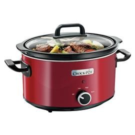 Save £5 at Argos on Crock-Pot 3.5L Slow Cooker - Red