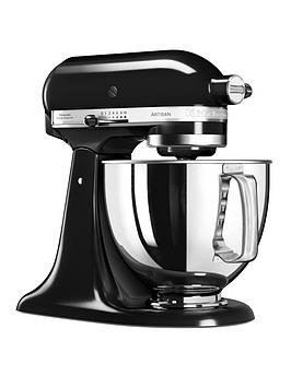 Save £220 at Very on Kitchenaid 125 Artisan 4.8L Stand Mixer - Onyx Black