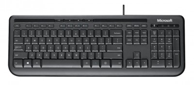 Save £4 at Argos on Microsoft 600 Wired Keyboard - Black