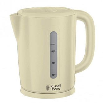 Save £2 at Sonic Direct on Russell Hobbs 21473 Darwin Kettle in Cream 1 7L 2 2kW