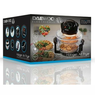 Save £8 at Sonic Direct on Daewoo SDA1032 DELUXE Halogen Low Fat Air Fryer 17 Litre 1400W