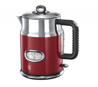 Save £40 at Currys on RUSSELL HOBBS Retro 21670 Jug Kettle - Red, Red