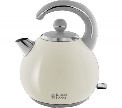 Save £35 at Currys on RUSSELL HOBBS Bubble 24401 Kettle - Cream, Cream