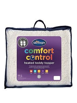 Save £10 at Very on Silentnight Teddy Fleece Heated Mattress Topper
