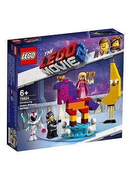 Save £3 at Very on The Lego Movie 2 70824 Introducing Queen Watevra Wa'Nabi