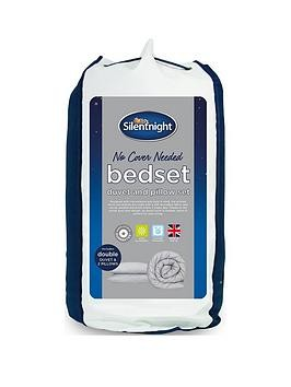 Save £12 at Very on Silentnight No Cover Needed Washable 13.5 Tog Duvet And Pillow Set