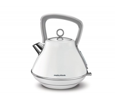 Save £6 at Currys on MORPHY RICHARDS Evoke One Traditional Kettle - White, White