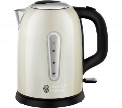Save £22 at Currys on RUSSELL HOBBS Cavendish 25502 Jug Kettle - Cream, Cream