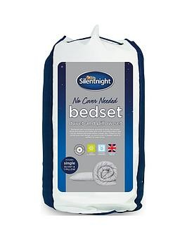 Save £11 at Very on Silentnight No Cover Needed Washable 10.5 Tog Duvet And Pillow Set