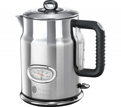 Save £40 at Currys on RUSSELL HOBBS Retro 21675 Jug Kettle - Silver, Silver