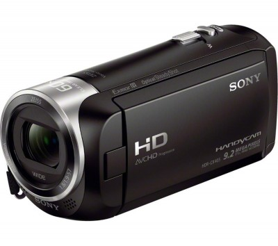 Save £34 at Currys on SONY Handycam HDR-CX405 Full HD Camcorder - Black, Black