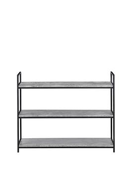 Save £10 at Very on Julian Bowen Staten Low Bookcase