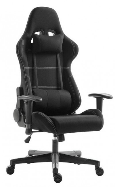 Save £13 at Ebuyer on EG Premium Gaming Chair - Black Fabric