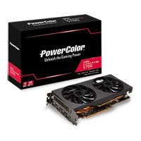 Save £45 at Scan on PowerColor Radeon RX 5700 Overclocked 8GB GDDR6 PCIe 4.0 Graphics Card, RDNA, 2304 Streams, 1750Mhz Boost, HDMI/DP