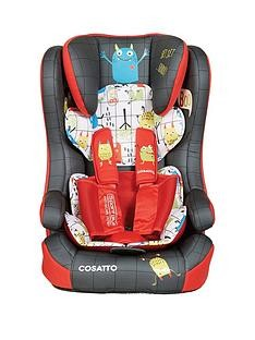 Save £25 at Very on Cosatto Cosatto Hubbub Group 123 Isofix Car Seat -Monster Mob