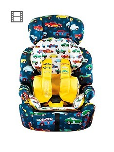 Save £15 at Very on Cosatto Zoomi Group 123 Car Seat - Rev Up