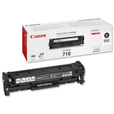 Save £17 at Ebuyer on Canon 718 Black Toner Cartridge