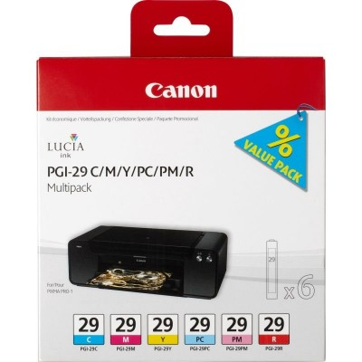 Save £29 at Ebuyer on Canon PGI 29 Multi-Pack Ink Cartridges