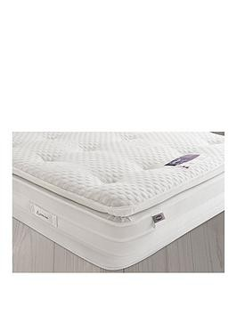 Save £115 at Very on Silentnight Jasmine 2000 Geltex Pillowtop Mattress - Medium/Soft - Next Day Delivery