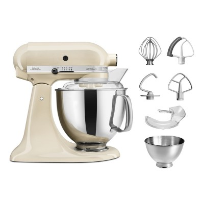 Save £48 at PRCDirect on KitchenAid 5KSM175PSBAC 4.8 Litre Artisan Stand Mixer, Almond Cream