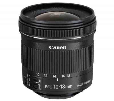Save £50 at Currys on Canon EF-S 10-18 mm f/4.5-5.6 IS STM Wide-angle Zoom Lens