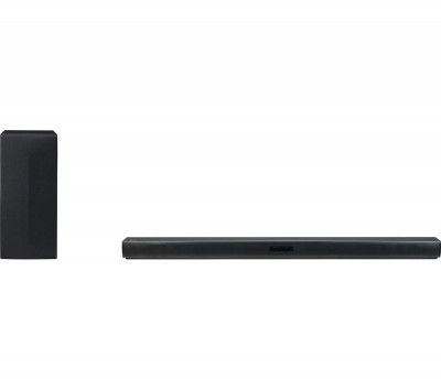 Save £20 at Currys on LG SK4D 2.1 Wireless Sound Bar, Gold