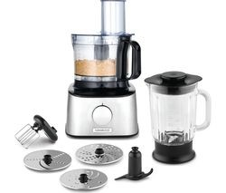 Save £31 at Currys on KENWOOD MultiPro Compact FDM300SS Food Processor - Black & Silver