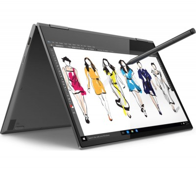 Save £180 at Currys on LENOVO YOGA 730-13IWL 13.3� Intel®� Core™� i5 2 in 1 - 256 GB SSD, Grey, Grey