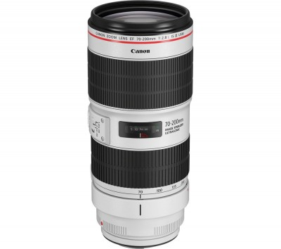 Save £410 at Currys on Canon EF 70-200 mm f/2.8L IS III USM Telephoto Zoom Lens