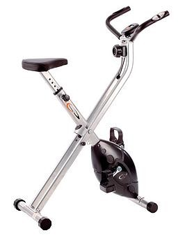 Save £17 at Very on V-Fit Folding X-Frame Cycle Exercise Bike