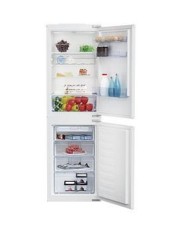 Save £50 at Very on Beko Bcsd150 54Cm Wide Integrated Fridge Freezer - White - Fridge Freezer Only