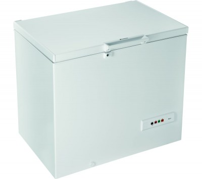 Save £40 at Currys on HOTPOINT CS1A 400 H FM FA Chest Freezer - White, White
