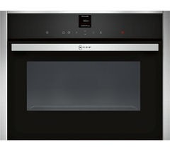 Save £70 at Currys on NEFF C17UR02N0B Built-in Solo Microwave - Stainless Steel