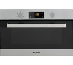 Save £59 at Currys on HOTPOINT Class 3 MD 344 IX H Built-in Microwave with Grill - Stainless Steel