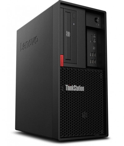 Save £171 at Ebuyer on Lenovo ThinkStation P330 TWR Gen 2 Workstation, Intel Core i7-9700 3GHz, 8GB 2666MHz, 256GB SATA SSD, DVDRW, Intel UHD, Windows 10 Pro, 3-year, Onsite