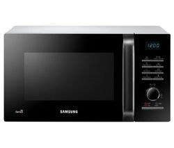 Save £25 at Currys on SAMSUNG MS23H3125AW Solo Microwave - Black & White