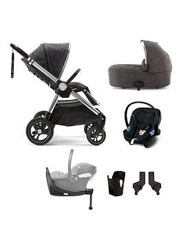Save £276 at Very on Mamas & Papas Ocarro Signature Edition 6-Piece Travel System Bundle - (Pushchair, Carry Cot, Car Seat, Isofix Base, Adaptor And Cupholder)