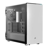 Save £40 at Scan on Corsair Carbide Series 678C White Mid Tower PC Case, w/ Tempered Glass Window, E-ATX~mITX, 3x 140mm Fans, USB 3.1 C