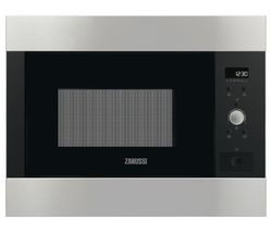 Save £45 at Currys on ZANUSSI ZBM26642XA Built-in Solo Microwave - Stainless Steel