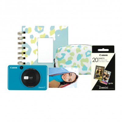Save £18 at Argos on Canon Zoemini C Sticker Instant Camera Bundle - Blue