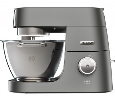 Save £255 at Currys on KENWOOD Chef Titanium KVC7300S Stand Mixer - Silver, Titanium