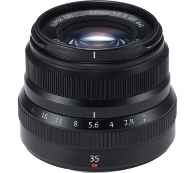 Save £87 at Currys on FUJIFILM Fujinon XF 35 mm f/2.0 R WR Standard Prime Lens