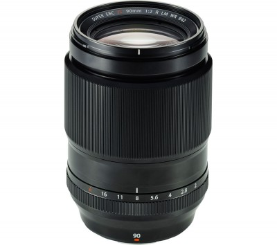 Save £153 at Currys on FUJIFILM Fujinon XF 90 mm f/2 R LM WR Telephoto Prime Lens